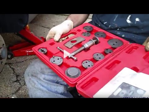 How to Use a Caliper Piston Tool