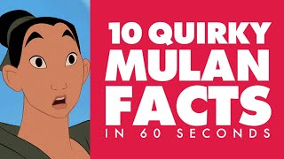 10 Hidden Disney Movie Secrets About Mulan In 60 Seconds | Disney Facts by Oh My Disney