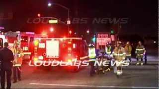 Ped Struck & Killed / Torrance   RAW FOOTAGE