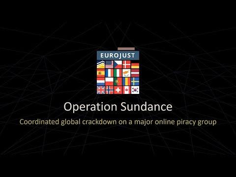 Operation Sundance: global crackdown on a major online piracy group | AR2020 | Eurojust