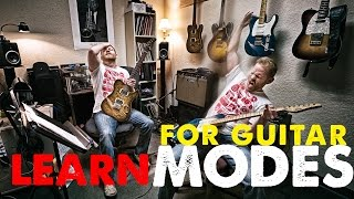 LEARN THE MODES (step by step approach for guitar players)