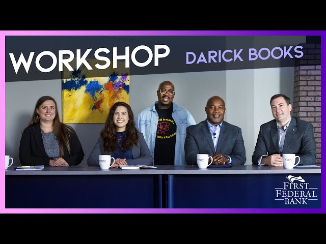 Turning the Page with Darick Books | YG Workshop with David Belman | First Federal Bank