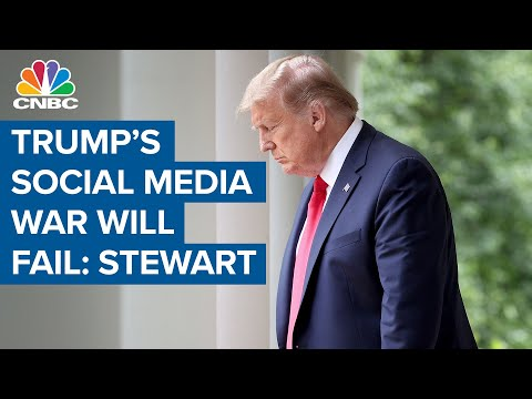 Trump's War On Social Media Will Likely Fail, NY Time's Jim Stewart Says