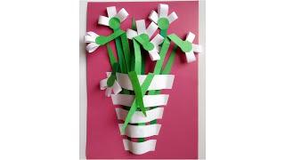Пингвин. Поделка из цветной бумаги на 14 февраля. Подарок на день святого Валентина своими руками.