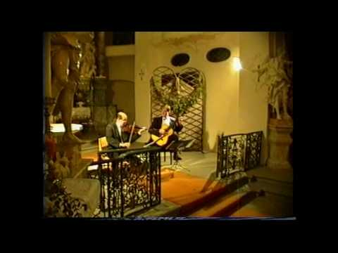 N.Paganini - Centone di Sonate - part 1&2 Paganini Duo - A.Kostecki & C.Petermann