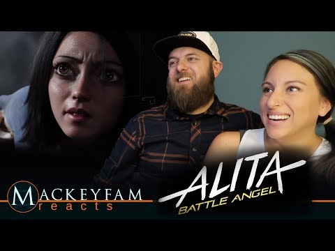 Alita: Battle Angel | Official Trailer- REACTION!!!