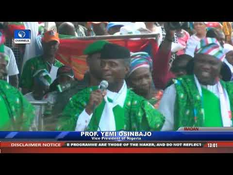 APC Presidential Campaign: Buhari Leads Train To Oyo Pt.5 |Live Event|