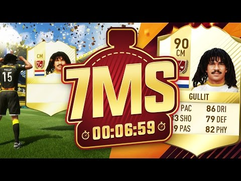 FIRST OWNER GULLIT 7 MINUTE SQUAD BUILDER!! FIFA 17 ULTIMATE TEAM