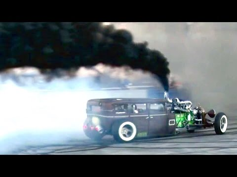 Prius Repellant 1 000hp Diesel Rat Rod Youtube