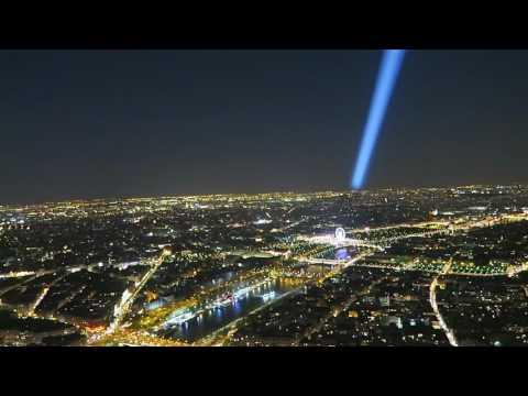 Paris night landscape