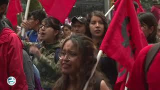 15 Mil estudiantes conmemoran marcha del silencio de 1968