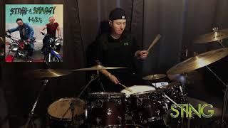 Sting & Shaggy - Waiting For The Break Of Day | Drum Cover 1080p