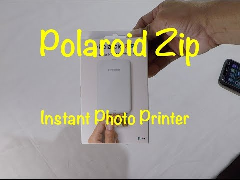 Check Out The Polaroid Zip Mobile Printer