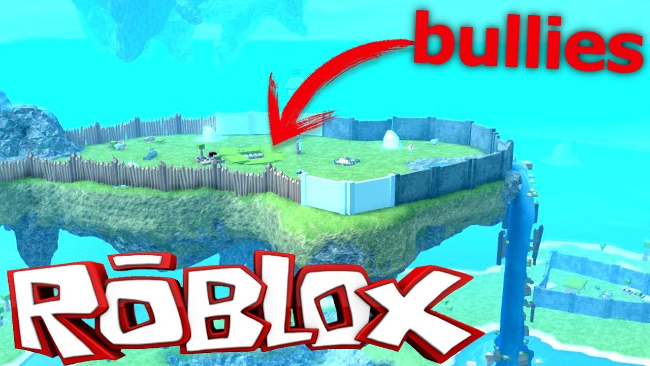 Fighting Bullies On The Floating Island Roblox Booga Booga