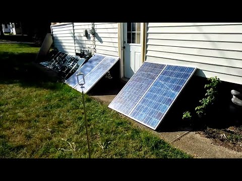 Best Way To Go Off The Grid, 8 Solar Panels