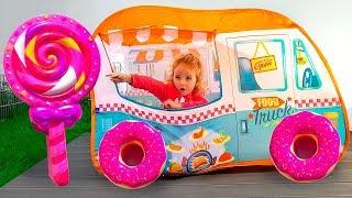 Play with Fun Food Truck Toy / Играем в магазин