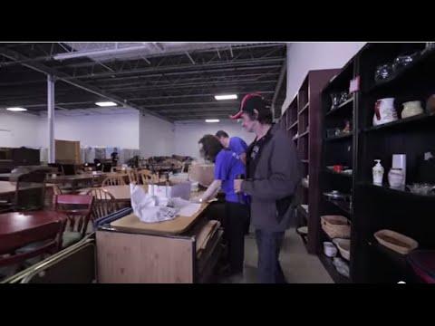 Volunteering At Furniture Bank