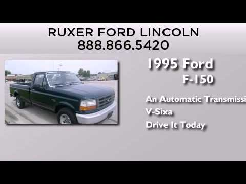 preowned 1995 ford f-150 jasper in - youtube