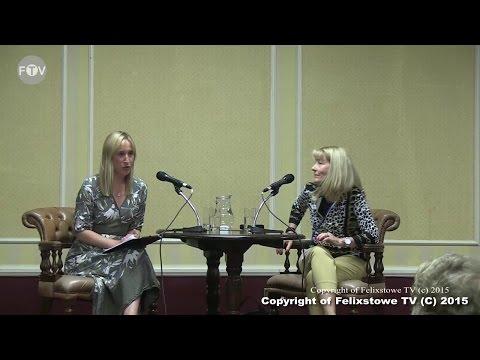 Felixstowe Book Festival 2015 -  Erica James