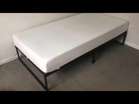 zinus-mattress-and-platform-bed-frame-review