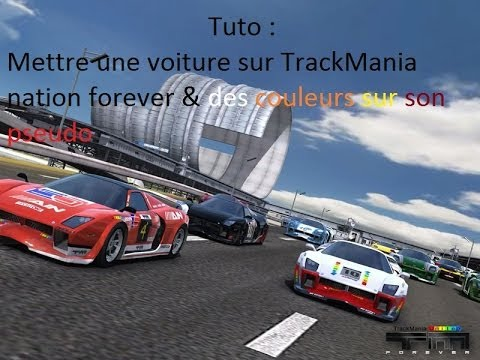 des voitures trackmania nations forever