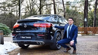 2018 Mercedes AMG GLC 43 Coupe 4MATIC + BRUTAL Drive Review Sound Acceleration Exhaust