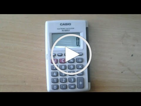 Find nth root of a number using simple calculator