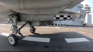 High Definition Close-up N-LCA landing gear INS Vikramaditya