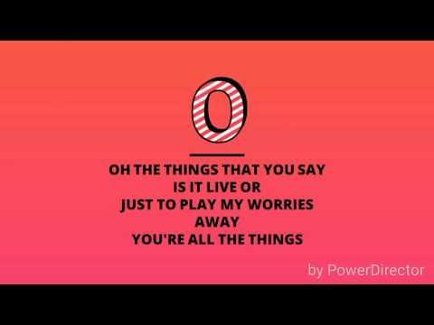 Take on me lyrics
