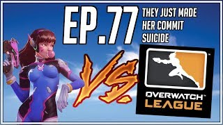 They Just Made Her Fall Off! - Random Overwatch Highlights - Ep. 77