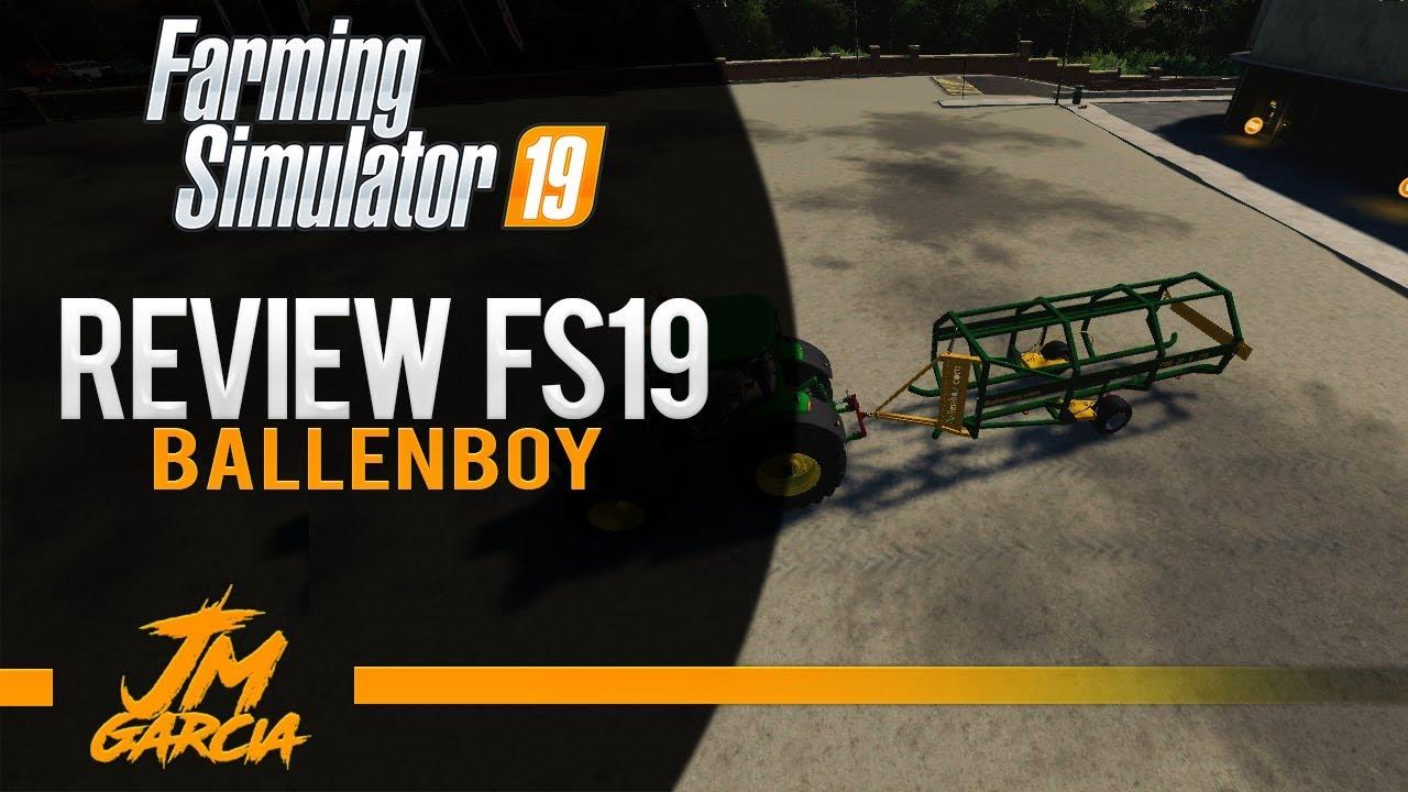 Ballenboy Trailer (Bales Collector) v1 0 for FS19 | Farming Simulator 19