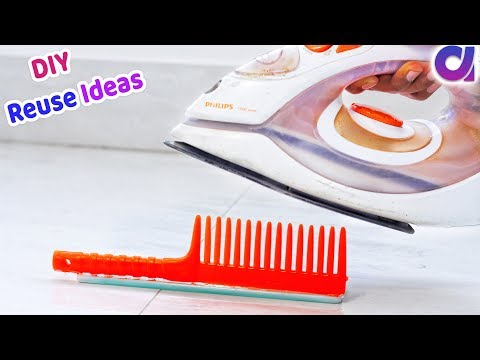 How to reuse Waste Comb | Best use of waste comb |Comb craft idea
