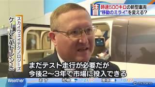 SKY WAY on Japanese TV News Program