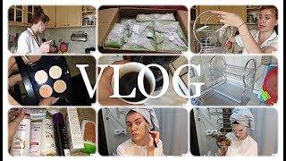 ВЛОГ:Обустраиваю Кухню/Новая посуда/Бюджетные покупки/Маска для лица с МУМИЕ