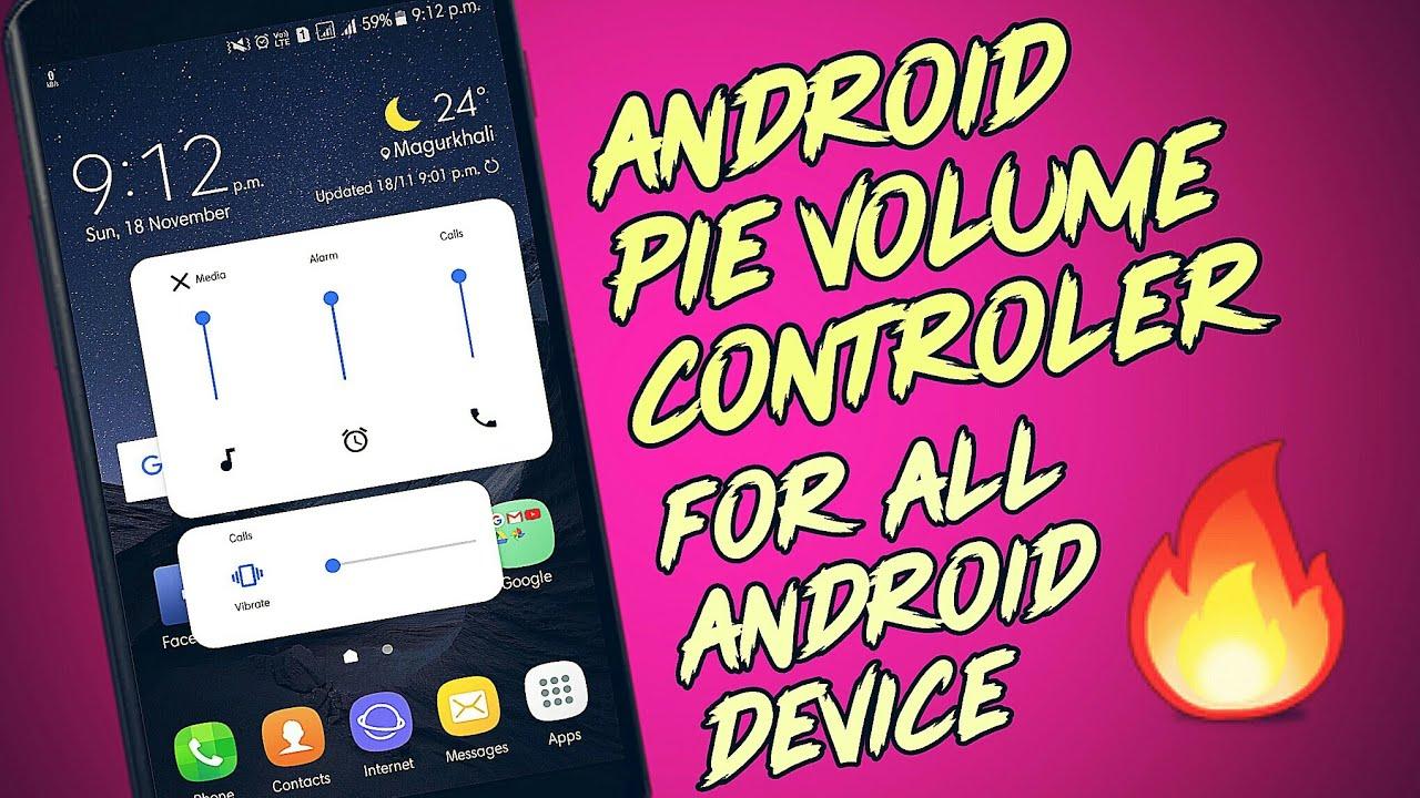 A short trick about how to enable PIE VOLUME CONTROLAR || #Pie_volume ||  #Pie