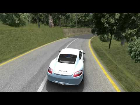 Porsche Cayman S rFactor Targa Florio Lap