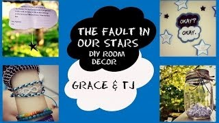 The Fault in Our Stars inspired Room Decor/ DIY crafts!|| Grace&TJ Thumbnail