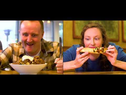 Pizza vs Poutine in Whistler