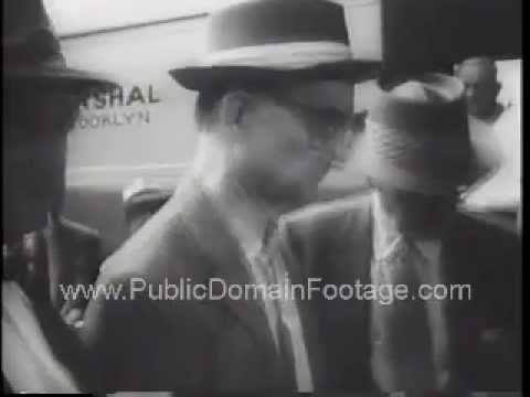 Mad Bomber George Metesky Captured and Russian Spy Colonel Abel Arrested Newsreel