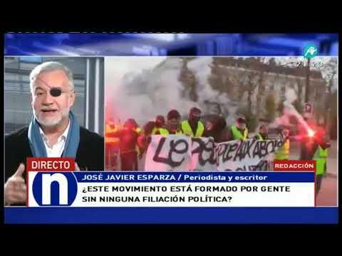Así califica Esparza a 'los chalecos amarillos' y sus protestas ante Macron