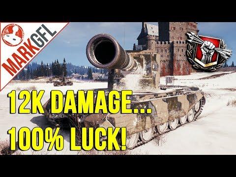 FV4005 13k Damage, 100% RNG! - World of Tanks thumbnail