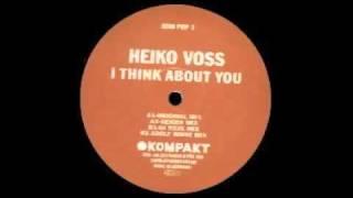 Heiko Voss - I Think About You (Geiger Mix) [Kompakt Pop, 2003]