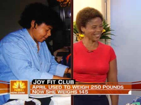 Joy Fit Club - 40 year old woman lost 114 pounds