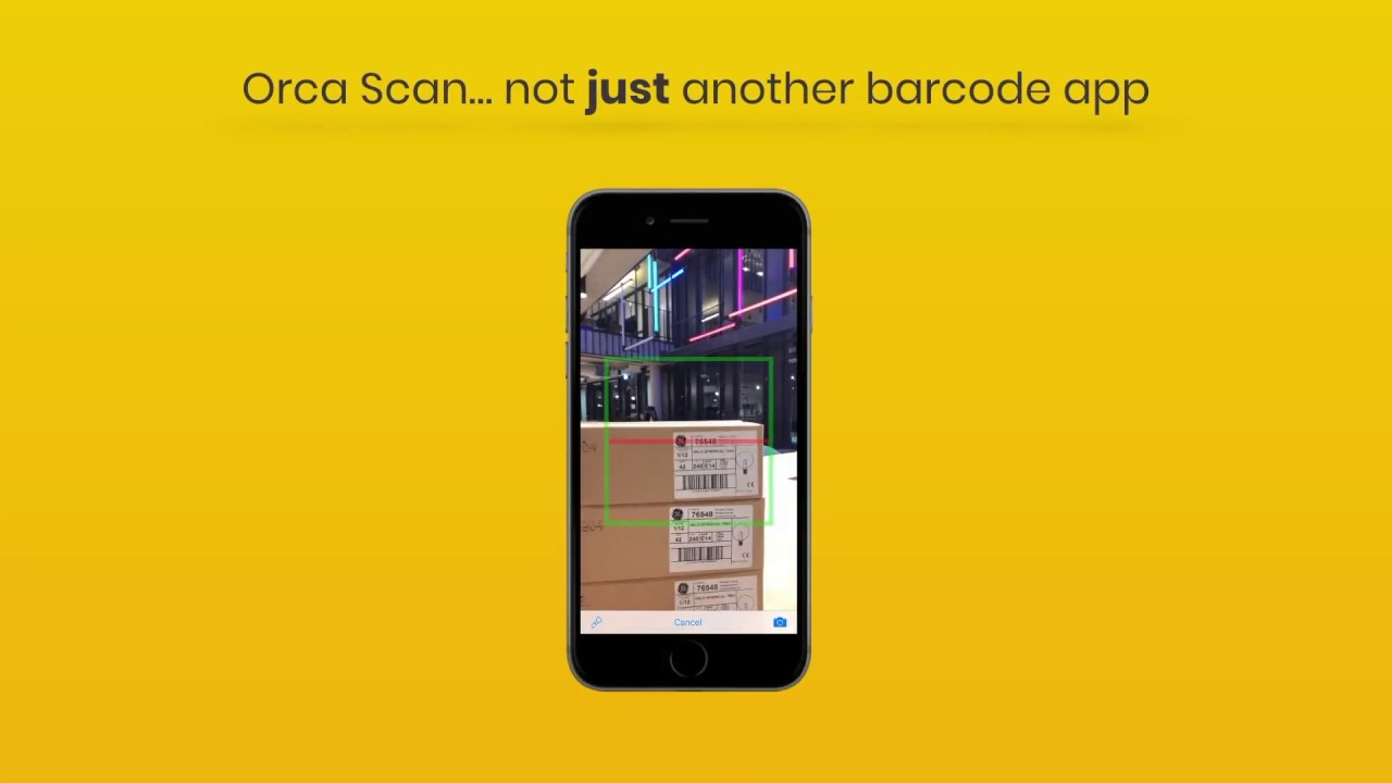 Orca Scan - Barcode Scanner to Excel Spreadsheet - by Cambridge App