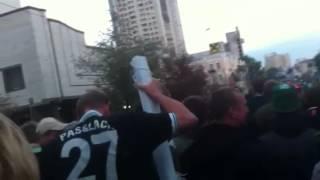 Dynamo Kiev - Borussia | Marsch zum Stadion 2/3