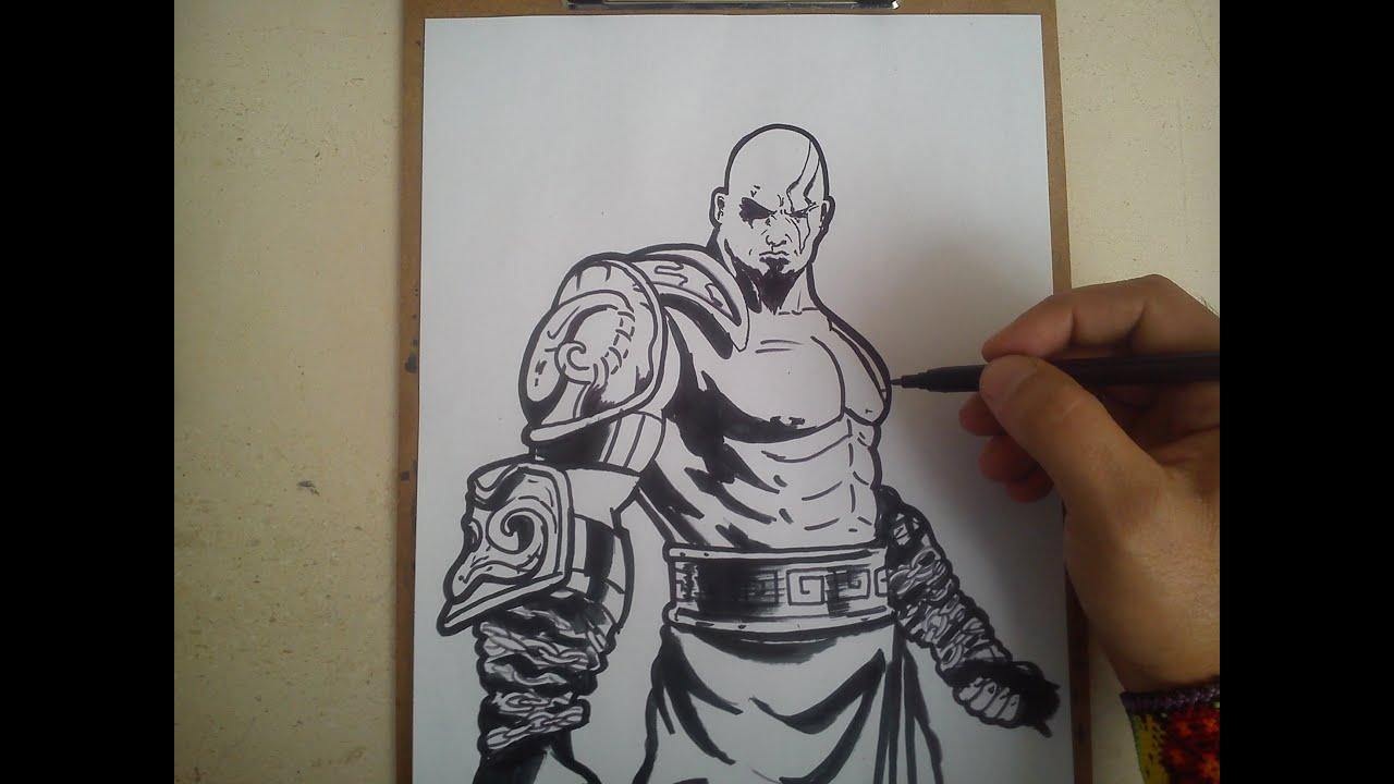 Meliodas Wallpaper Hd Como Dibujar A Kratos De God Of War How To Draw A Kratos