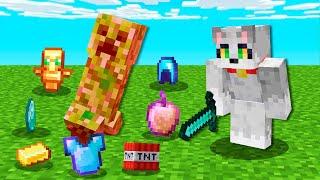 Paso Minecraft pero los MOBS dan COSAS OP 😱💎 Invictor y Acenix