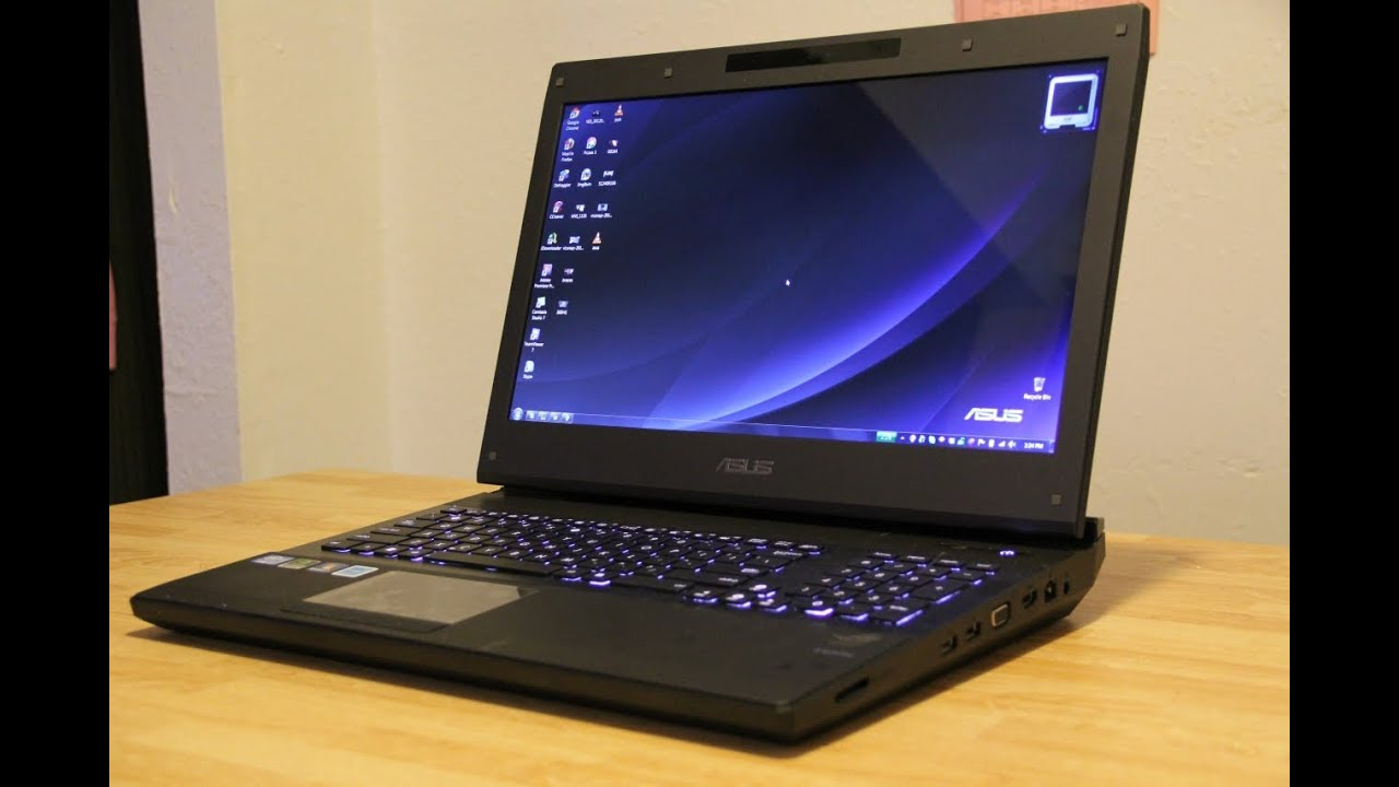 Asus Republic Of Gamers G74sx Laptop Unboxing Youtube