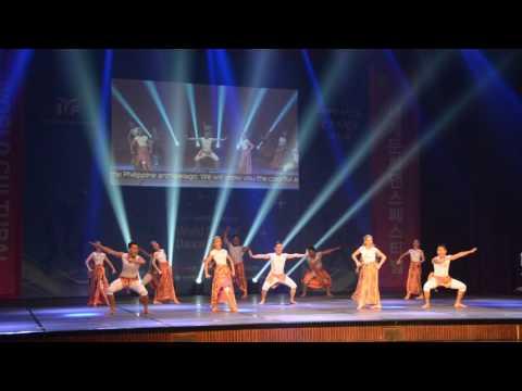 BALANGAY 2016 IYF WORLD CULTURAL DANCE FESTIVAL SILVER PRIZE