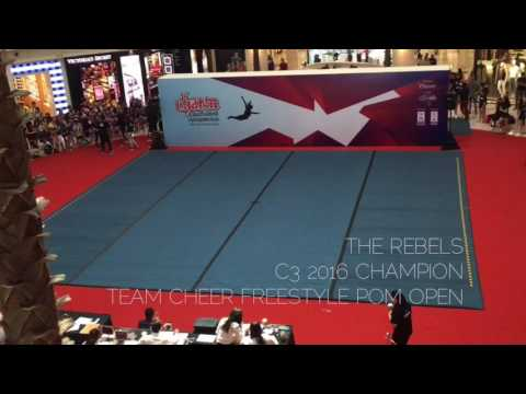 The Rebels C3 2016 Champion - Team Cheer Freestyle Pom Open